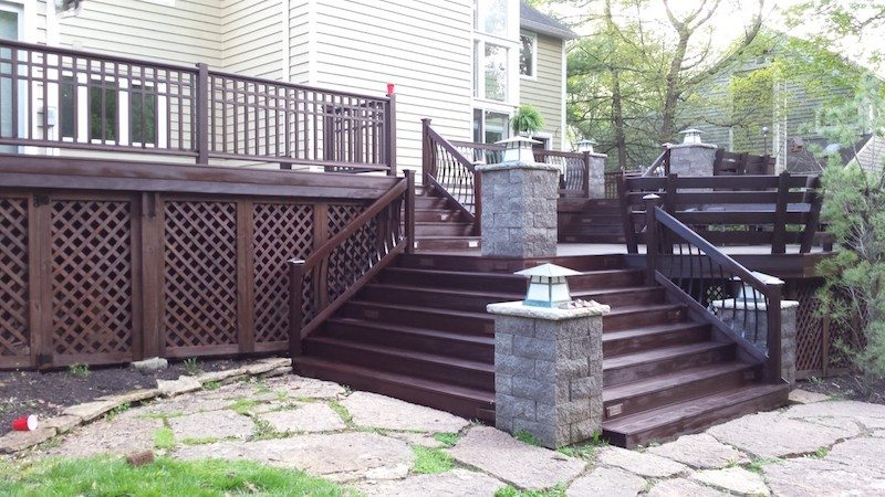 deck cleaning and staining Indian Hill Ohio